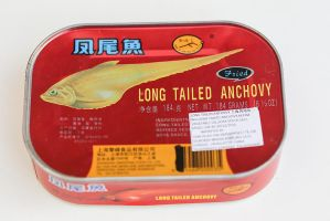 Canned fried anchovies by patchow
