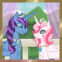 King Royal Sky and Queen Rose Prism by The-Clockwork-Crow