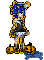 Halloween chibi - Marcus by Sofua