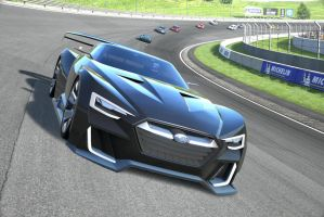Racing at High Speed Ring by NightmareRacer85