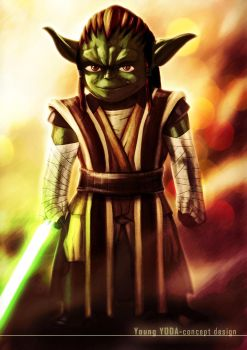 Young Yoda-concept design by xXLightsourceXx