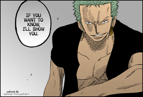Zoro coloring, SOYS vol.1 (2) by AnnaHiwatari