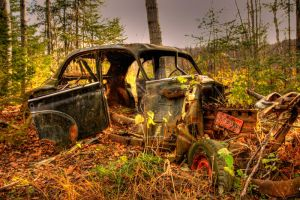 HDR Old Car by Nebey