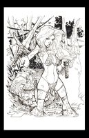 Hi Res Inks Red Sonja by rantz