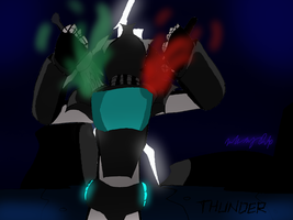 Art Request: Thunder Rogue by ToniMizukiPrime