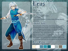 OC. Ref: Uras by Dark-Arya