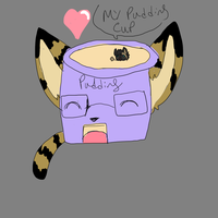 MY PUDDING CUP by Roi-Chaton-Noir