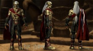 Kain GlyphX model full Recreation by TheHylden