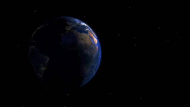 The Blue Marble by SXPanda