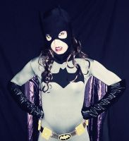 Batgirl Cosplay - Black and Grey 2 by ozbattlechick