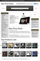 Best Price Deals Site mockup by L0053R