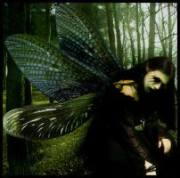 Fairy of the woods. by GrotesquePuPPyMeow