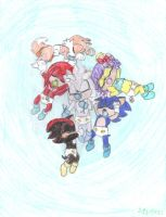 Group Sonic Babies by Carurisa