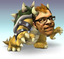 James as Bowser by intothefr4y