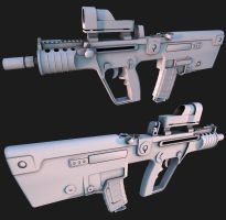 IWI Micro Tavor by Tom3dJay