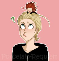 Super Chibi Axel Glomp by Porcelain-Requiem