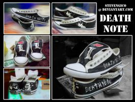 Commission: Death Note Shoes 3 by stevengico