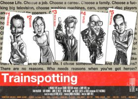 Trainspotting Poster by Parpa