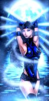 classic Kitana by ElecoMoroco