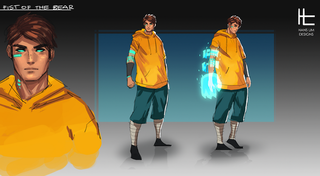 Fist of the Bear Character Concept by BlandStuffTastesNice