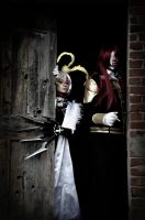 Allen Walker and Marian Cross Cosplay 05 by HellDolly