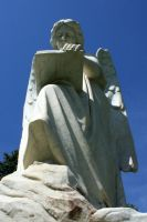 Mount Olivet Cemetery Archangel Uriel 65 by Falln-Stock