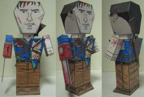 Ash Paper Toy prototype by Ditch-scrawls