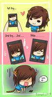 Taking a selca/selfie... by torakun14