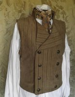 Sweeney Todd inspired waistcoat PCW4-2 by JanuaryGuest