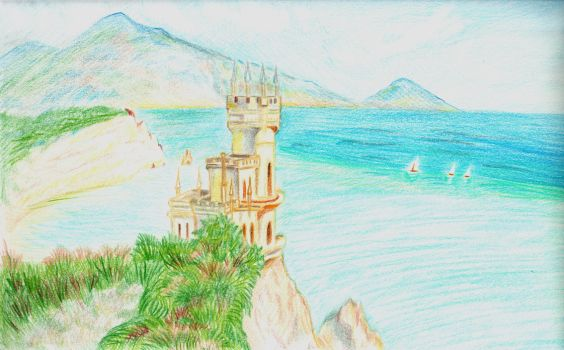 Swallow's Nest Castle by Xotary