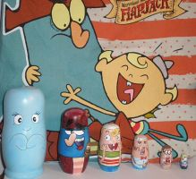 Matryoshka of Flapjack by Libra-In-Red