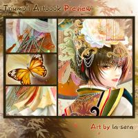 Triumph Artbook Preview: Autumn by la-sera