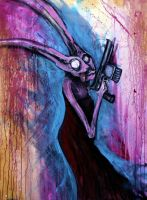 secret agent rabbit by KnowNoTruth
