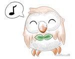 Rowlet by SirLaMence
