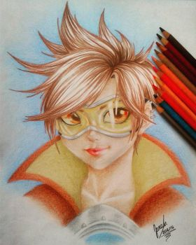 Tracer Overwatch by janadashie