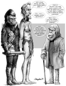Planet of the Apes by Loopydave