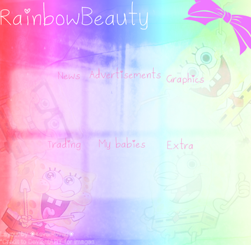 Spongebob layout by Lovely-Lily1997