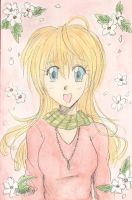 Flowerly Smile by Good-Anime
