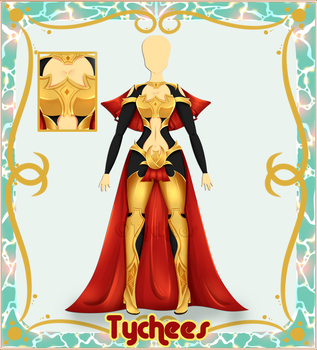 Outfit Adoptable (Auction) #19 CLOSE !!! by Tychees
