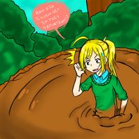 Commission: Quicksand by Miharu-chan10