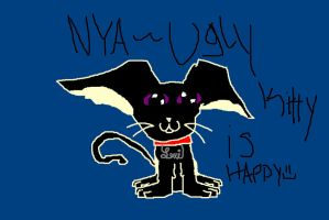Happy Ugly Kitty by catz537