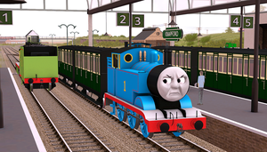 The Little Blue Shunter by Train4755