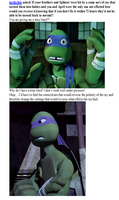 Tumblr: Donnie Hates Time Limits by TurtleChix