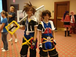 sora x2 cosplay by Cloudvp
