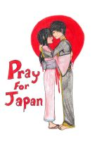 Pray For Those In Japan by WolvesReign13