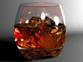 Whisky glass by Hankins