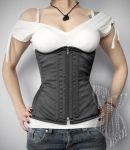 Underbust  With Bust Shape by Madame-Morgana