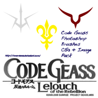 Code Geass Brush Set + Images by LieutenantKer