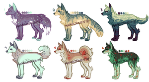 Canine Adopts : 1/6 OPEN : Low Prices!!! by magniloquente