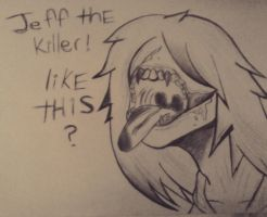 Jeff the killer by Gamerkitty39